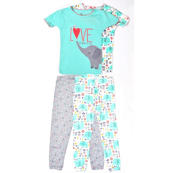 cb0260f193 Just One You by Carter s Elephant Pajama Set